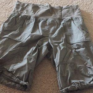 Army Green Calvin Klein Bermuda Shorts XL